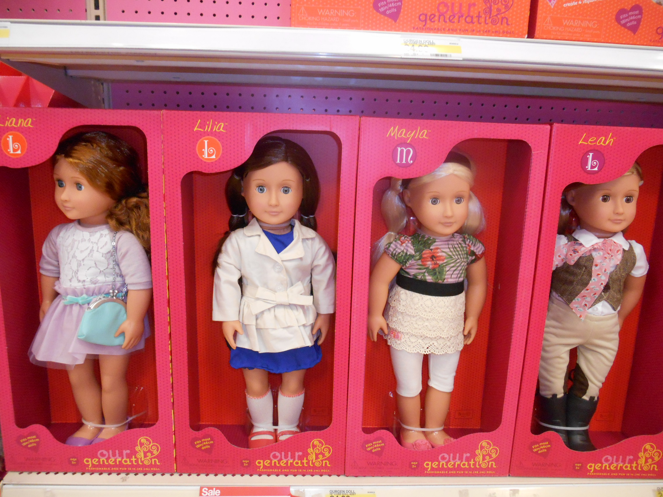 New Our Generation Items Dolltastically Fun