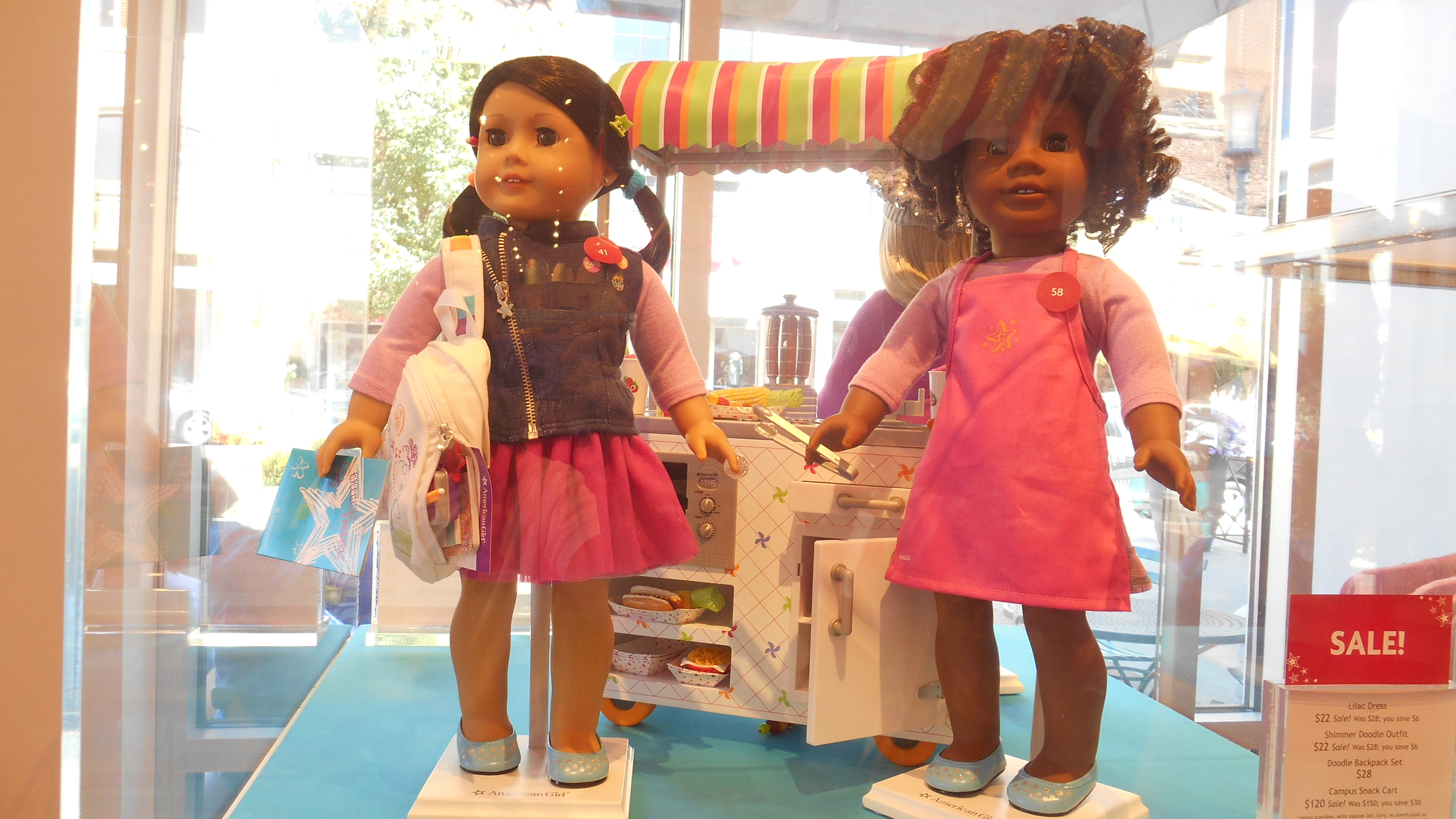Campus Snack Cart American Girl Truly Me 2015