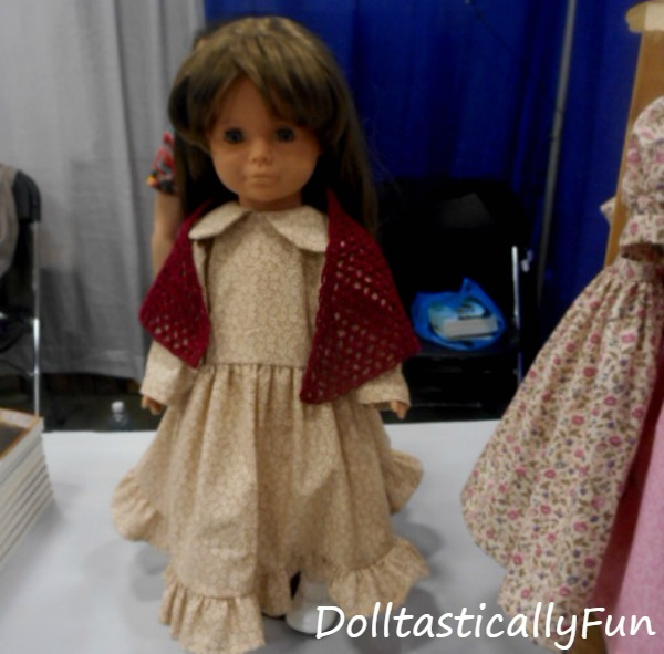 Doll in a shawl