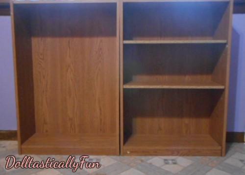 Bookshelf with shelves
